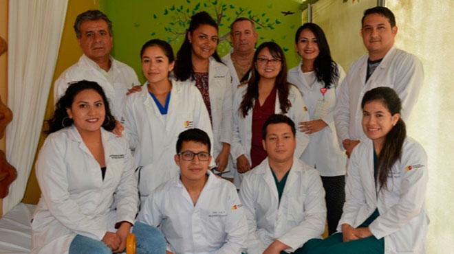 Equipo de Ginecolog�a y Obstetricia del Hospital de Macas.