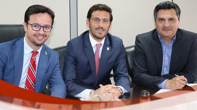Eduardo  Costa, Luciano  Boccardo, Javier Gabela.