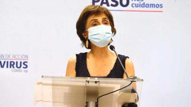 Paula Daza, subsecretaria de Salud P�blica de Chile.