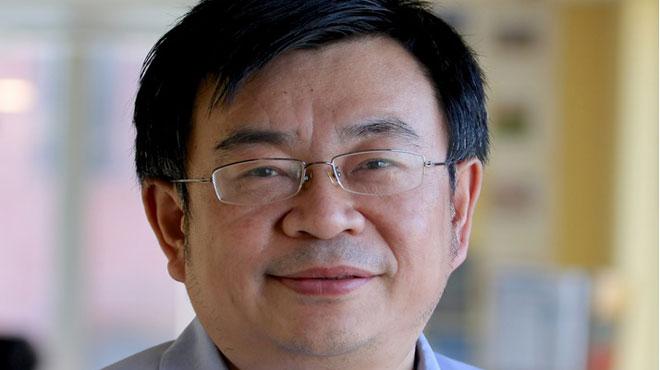 Tao Hu, investigador del Instituto de Microsistemas y Tecnolog�a de la Informaci�n de Shanghai