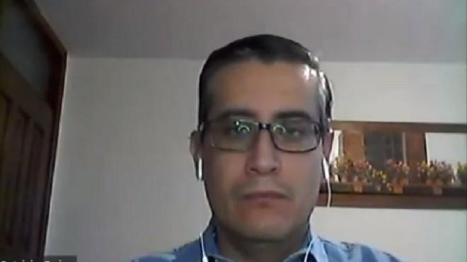 Patricio Rojas, director del Instituto de Microbiolog�a de la USFQ.