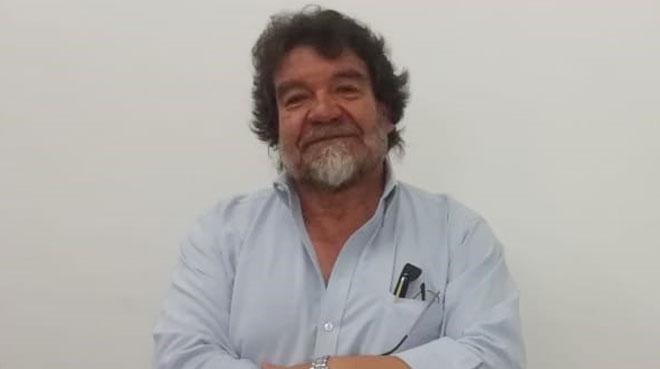 Patricio Espinoza, docente de la UCE.