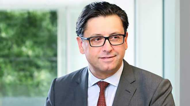 Paul Hudson, director ejecutivo de Novartis Pharmaceuticals.