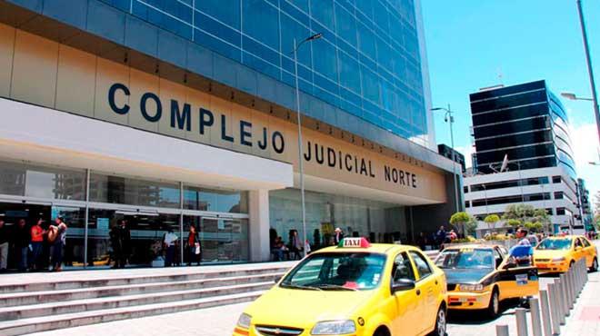 Complejo Judicial Norte en Quito.