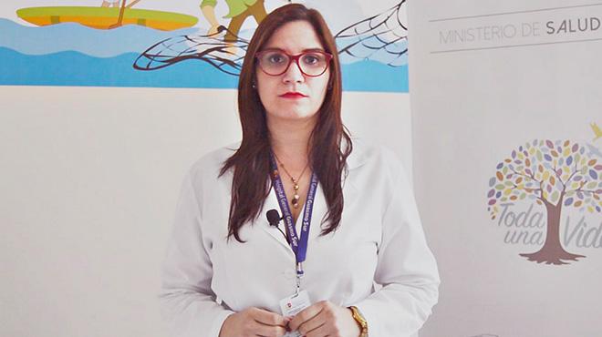 María del Pilar Pólit, líder del servicio de Mastología del HGS.