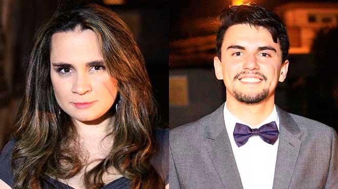 Mar�a Antonieta Flores y Pablo Estrella.