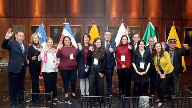 Participantes del Primer Encuentro: Red Internacional de Legisladores Para Pol�ticas de Drogas.