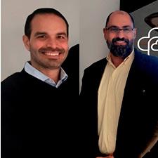 Marcelo Salvador y Samir Zeidan.