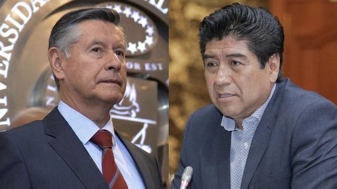 Fernando Semp�rtegui y Jorge Yunda.