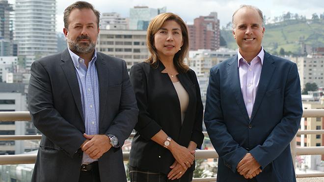 Rafael Dasso, Jacqueline Mayor, Sebasti�n Mantilla.