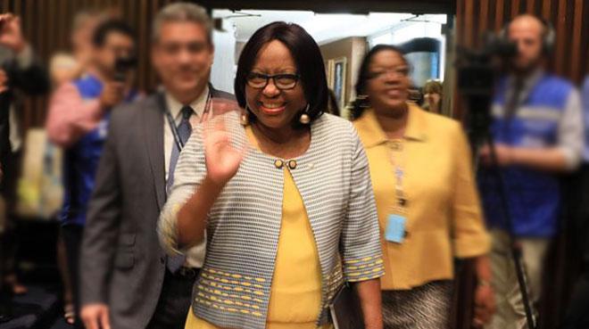 Carissa F. Etienne, directora OPS.