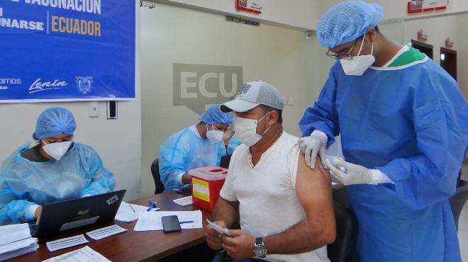 Este proceso est� dirigido a los profesionales que a�n no han sido vacunados.
