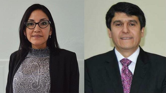 M�nica Tarapu�s y Enrique Ter�n, expertos en Farmacolog�a.