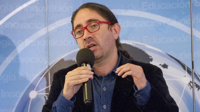 Ren� Ram�rez, directivo de la Senescyt .