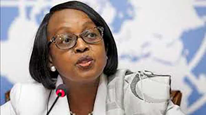 Matshidiso Moeti, directora para �frica de la OMS.