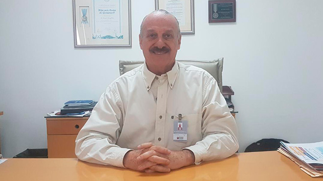 Ricardo Koenig, presidente de la Benem�rita Sociedad Protectora de la Infancia.