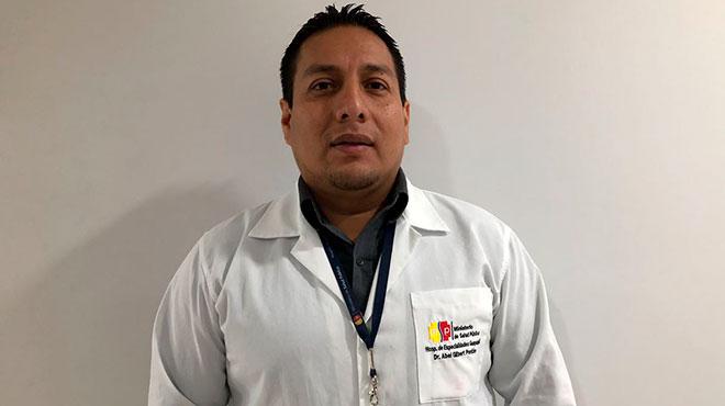 Roberto Cede�o, l�der de Endocrinolog�a del HAGP.