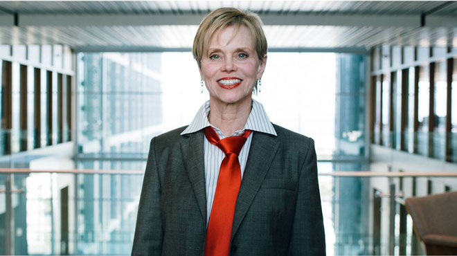 Sandra Horning, directora m�dica de Roche.