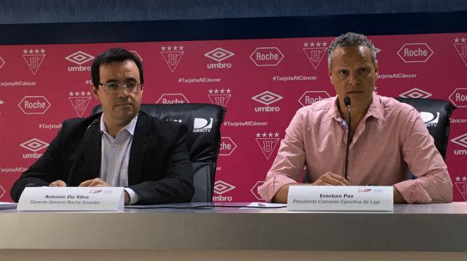 Antonio Da Silva y Esteban Paz.