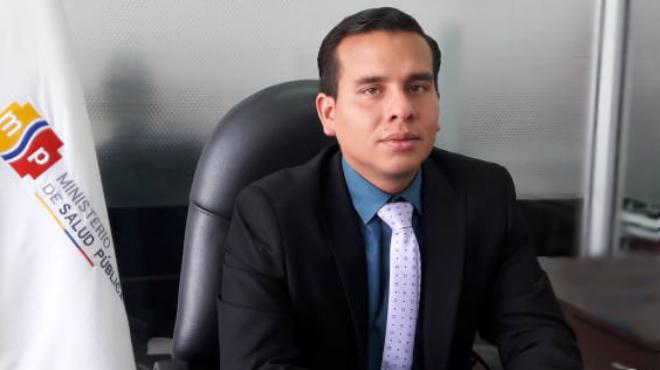 Viceministro de Gobernaza, Ronald Cede�o.