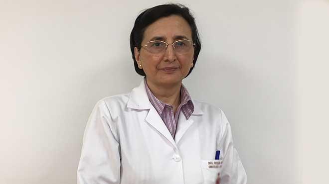 Roxana Cifuentes, ginecóloga.