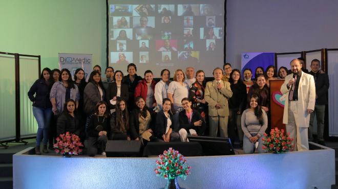 Participantes del evento cient�fico.