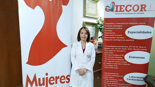 Patricia Delgado, directora de IECOR.