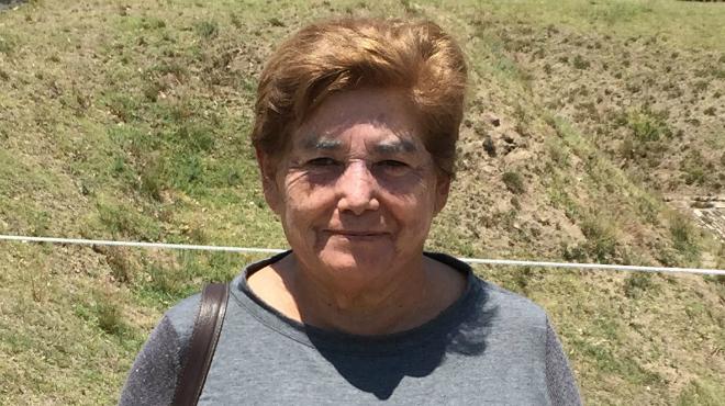 Rosa Santamar�a, presidenta del Colegio de Enefermeras de Pichincha.