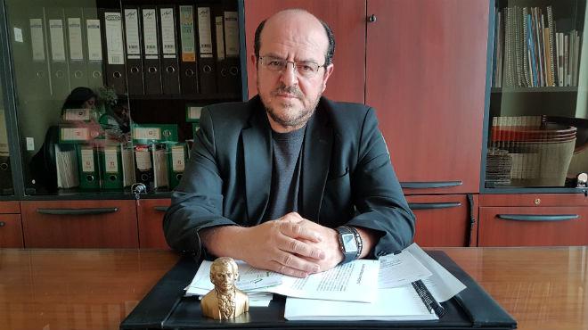 Santiago Carrasco, presidente del Colegio de M�dicos de Pichincha.