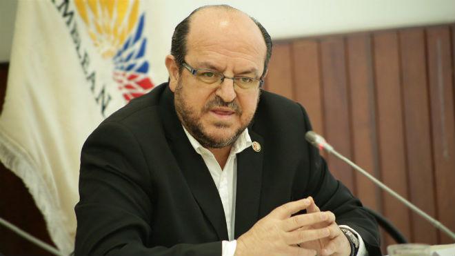 Santiago Carrasco Due�as, presidente de la FME.