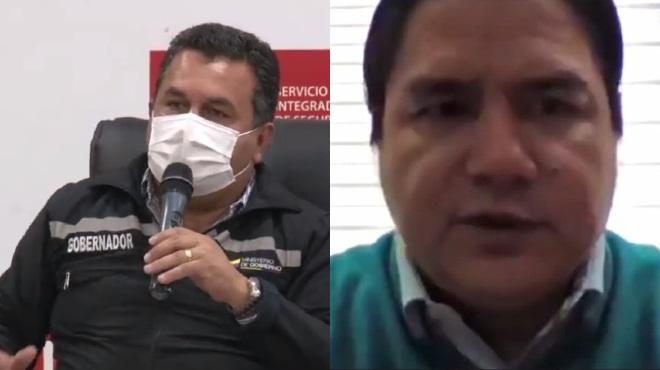 Juan Franco Gamarra y Julio L�pez.