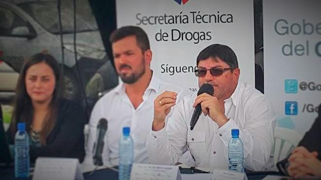Rodrigo Su�rez, secretario T�cnico de Drogas.