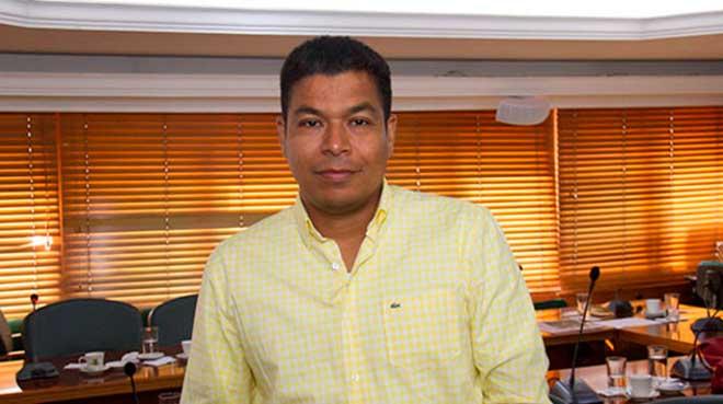Alexánder Durán, secretario de Salud de Cali