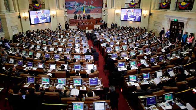 Senado colombiano.