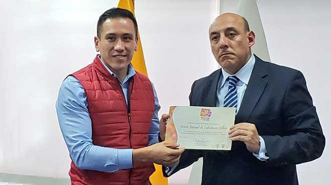Carlos Cisneros y Gustavo Araujo.
