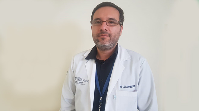 Silvano Bertozzi, internista HGDC.