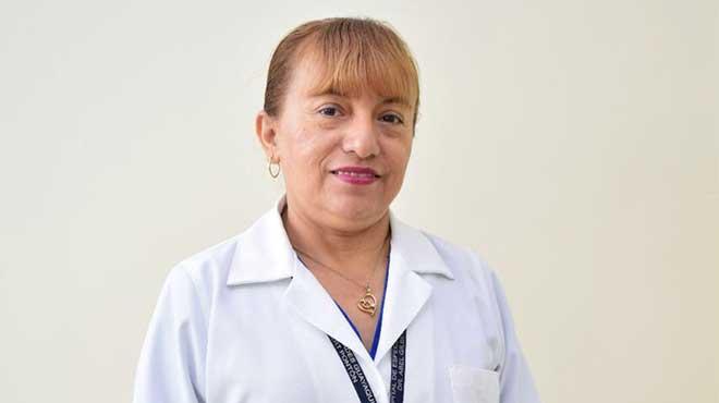Silvia Villafuerte, nutricionista del HAGP.