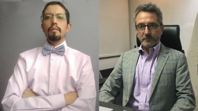 Freud C�ceres y Daniel Rodr�guez.