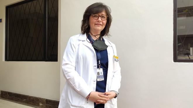 Tannia Soria, jefe de Oncolog�a Cl�nica de SOLCA.