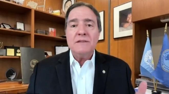 Jarbas Barbosa, subdirector de OPS/OMS.