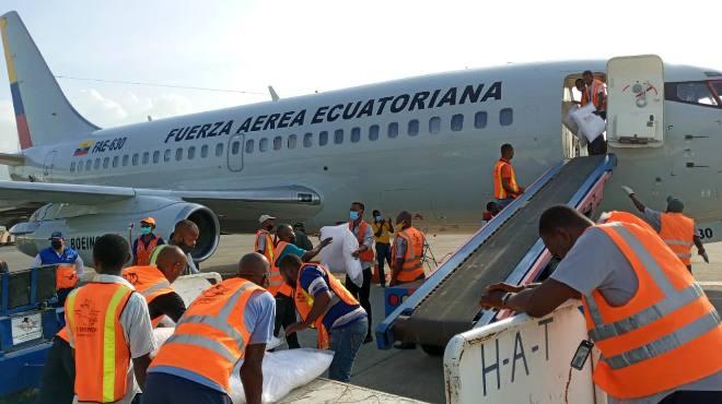 La ayuda humanitaria ya fue entregada.