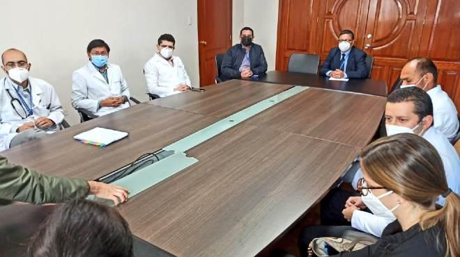 Una comisi�n t�cnica del INDOT se ha reunido con el equipo del HCAM.