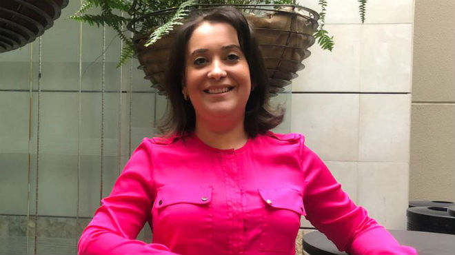 Maribel Tribaldos, directora m�dica de Sanofi.