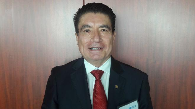 Guillermo Troya, docente de la Facultad de Ciencias M�dicas de la Universidad Central.