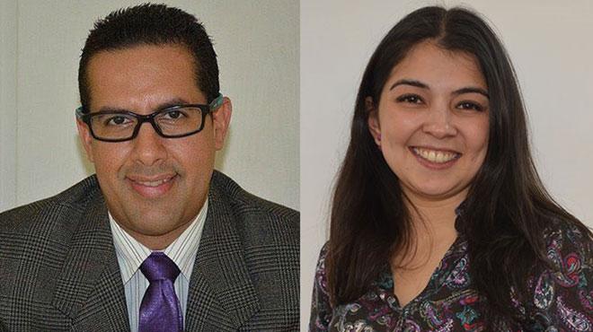 Javier Nieto y Tamara Rosales.