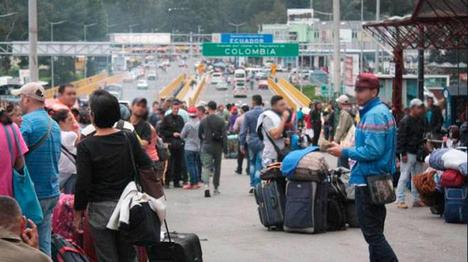 Dato de RI afirman que 221 mil venezolanos se han quedado en Ecuador.