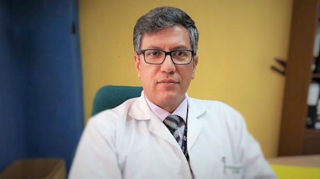 V�ctor �lvarez, vicepresidente del Colegio M�dico de Pichincha.