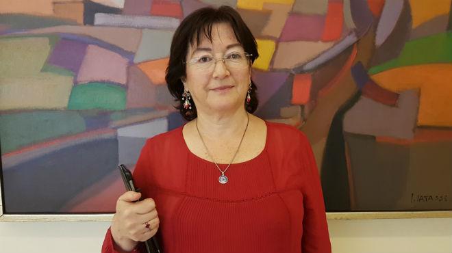 Virginia G�mez de la Torre, directora de la Fundaci�n Desaf�o