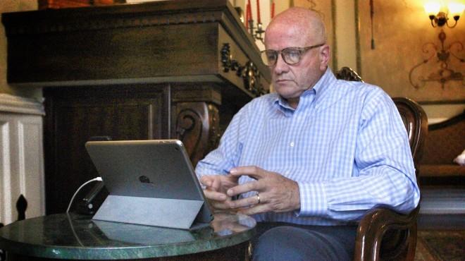 Alfredo Borrero, candidato a la vicepresidencia.