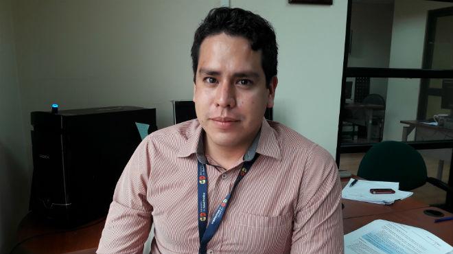 Yasir Chara Moreira, gerente institucional del programa ampliado de inmunizaciones del MSP.
